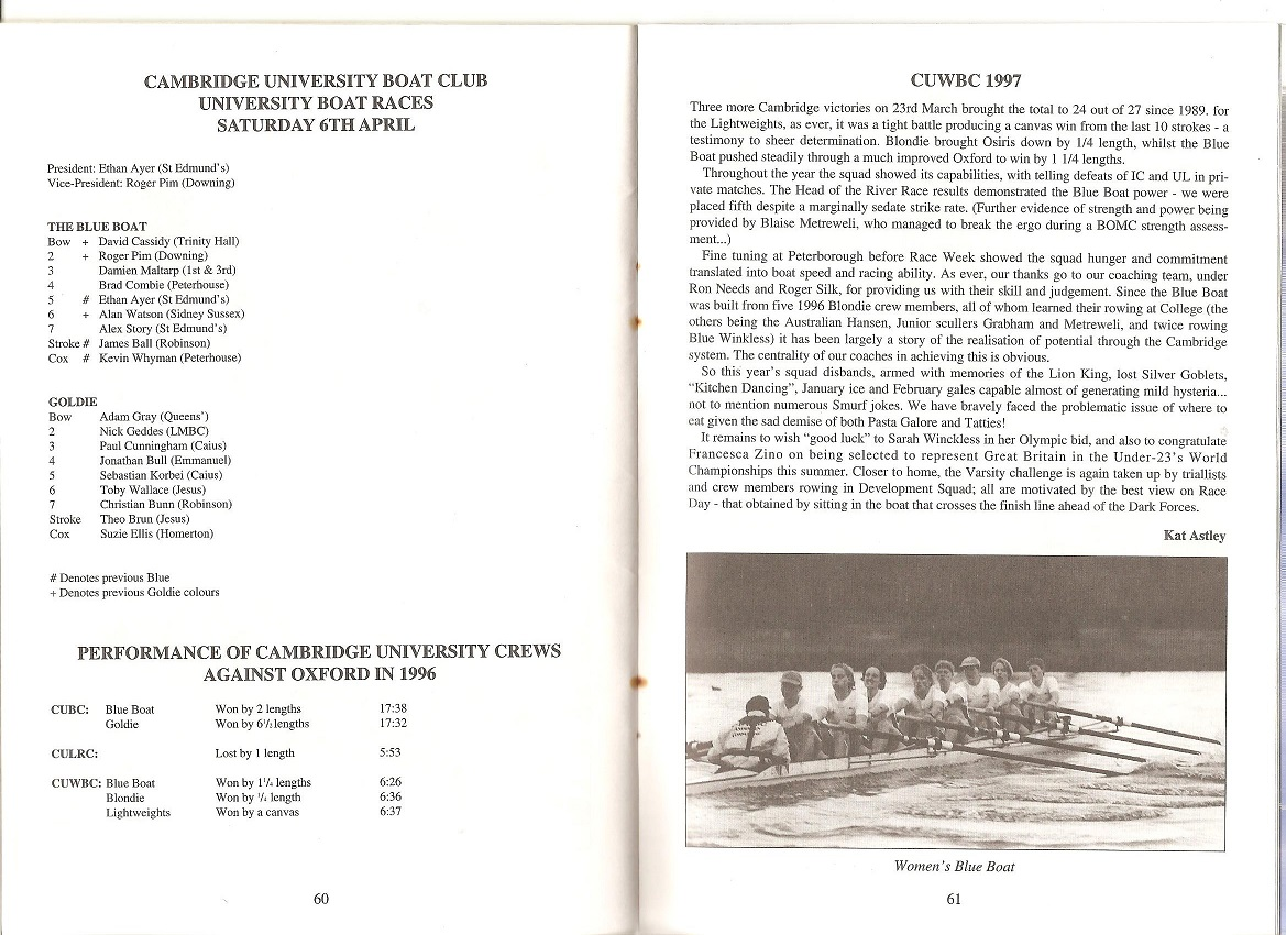 1997 cuw reports bb and bl mays prog 001